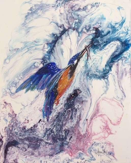 A Tasty Morsel, Acrylic on Canvas, 52 x 41cm